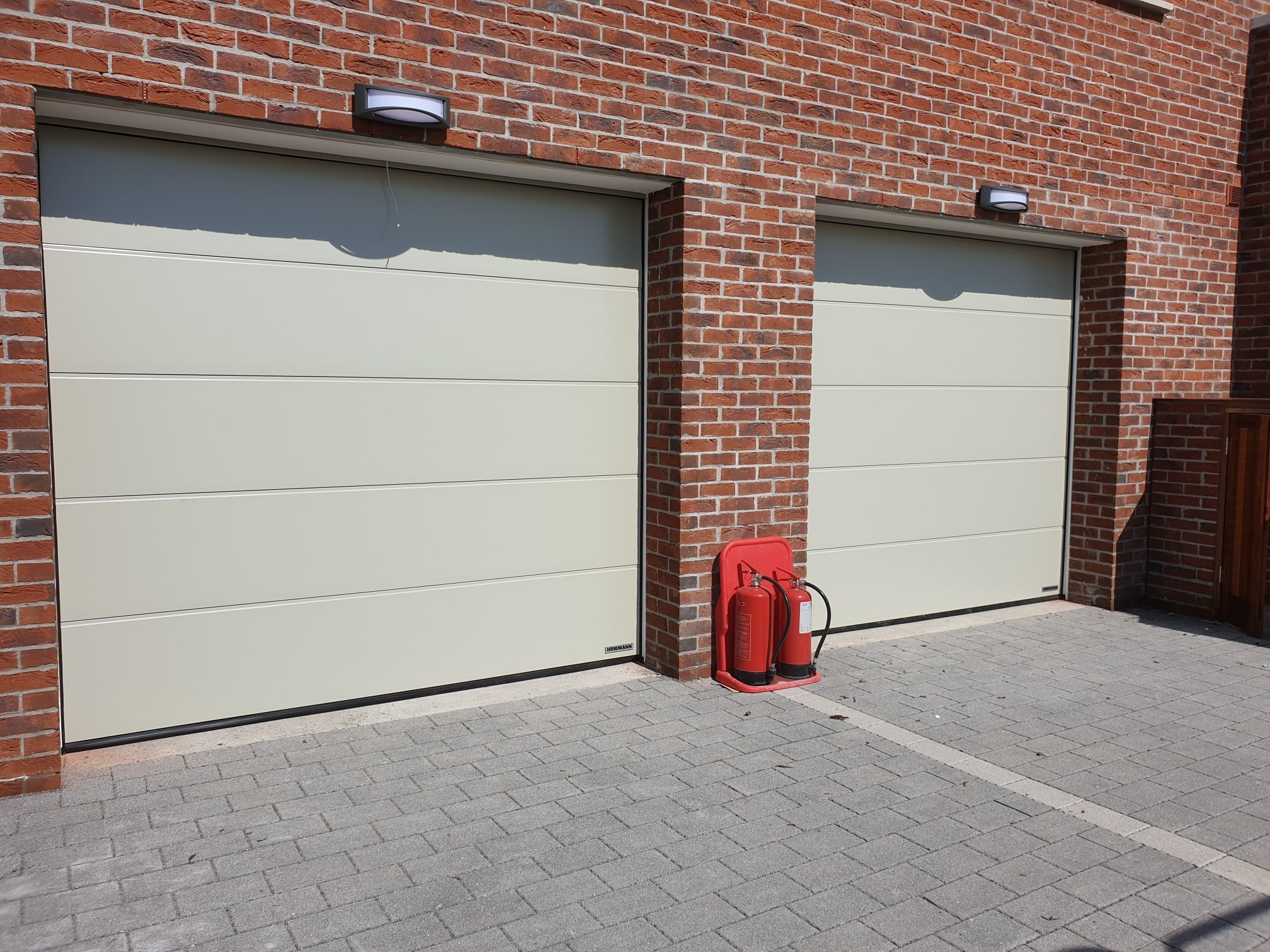 Insulated sectional garage doors 2