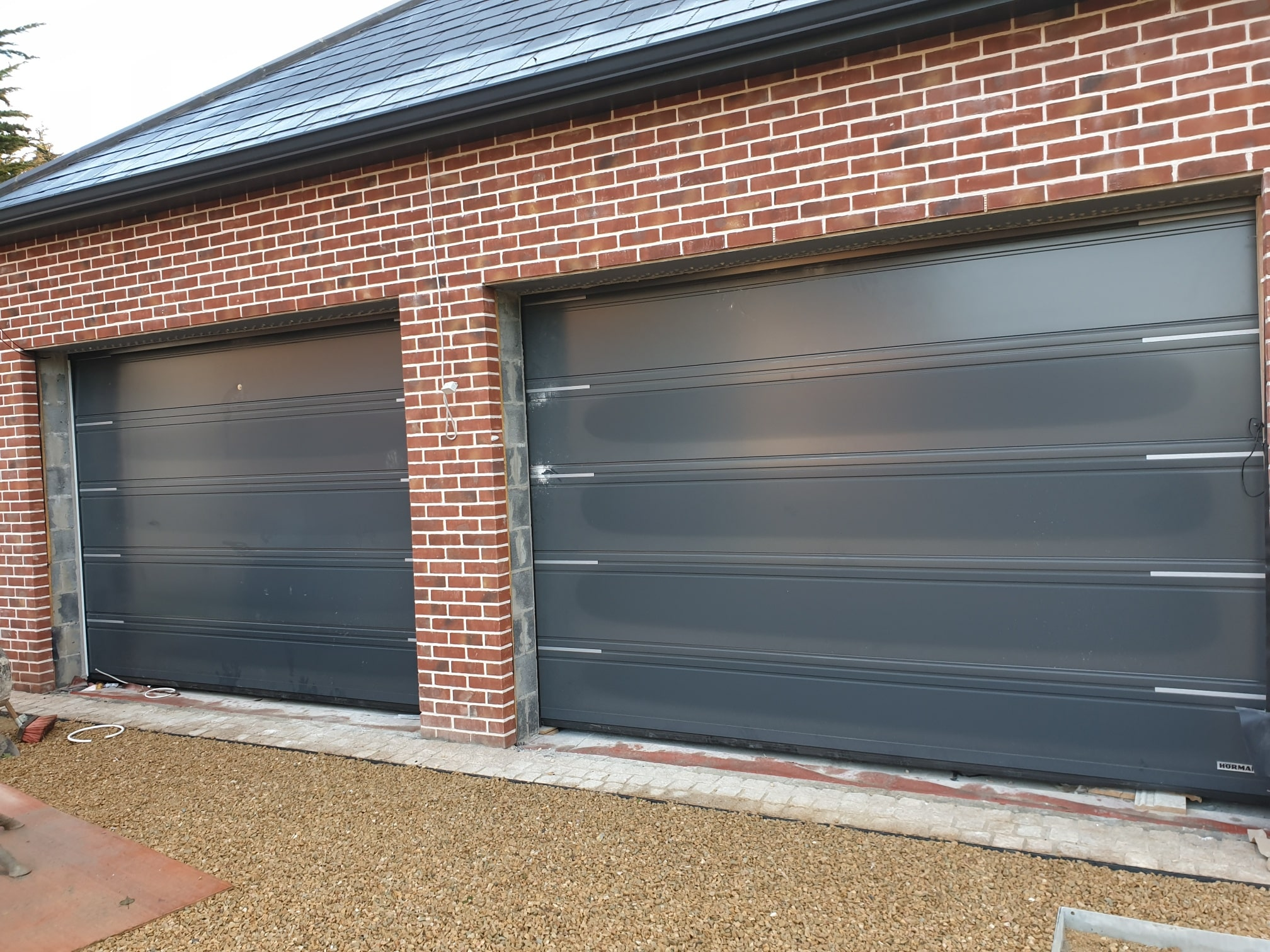 Insulated sectional garage doors 5